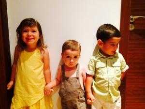 Tres preciosidades...regalo de la vida...